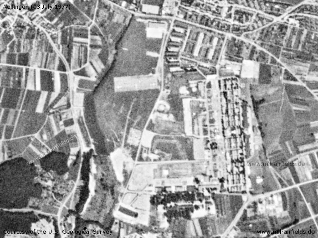 Nellingen Army Heliport AHP and Nellingen Barracks, Germany 1977