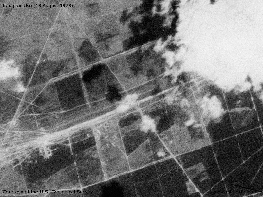 Airfield on the Gadow-Rossow training area
