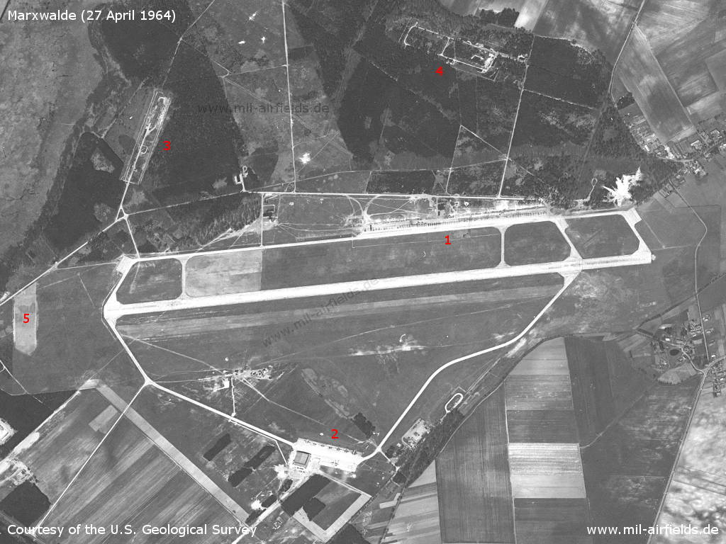 Marxwalde Air Base, GDR, 1964