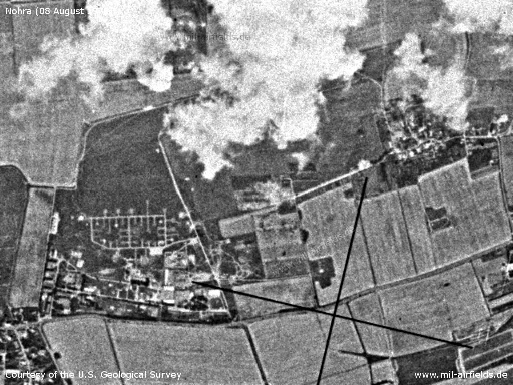 Sowjetischer Hubschrauber-Flugplatz Nohra, DDR