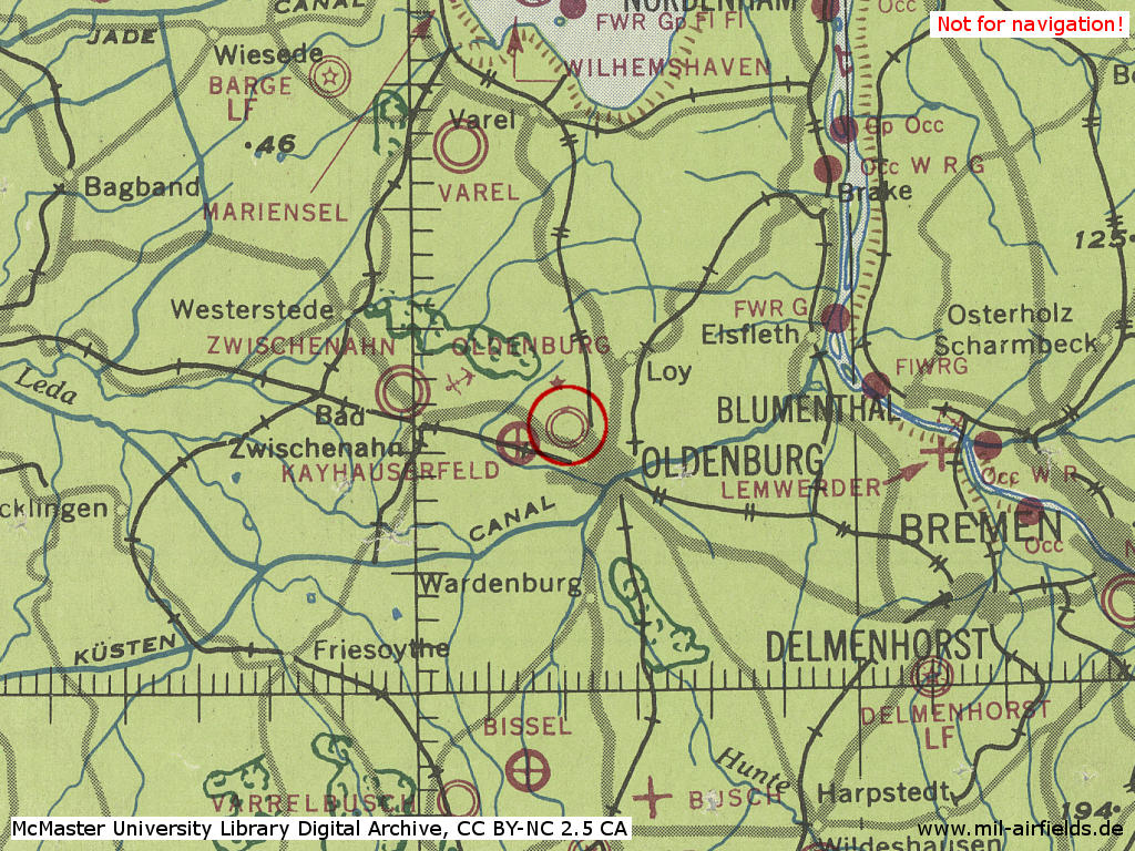 Oldenburg Air Base Germany Military Airfield Directory