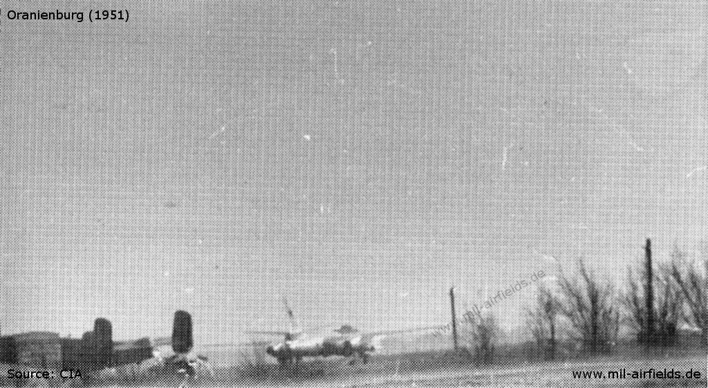 North American B 25 and Il-28, Oranienburg Air Base