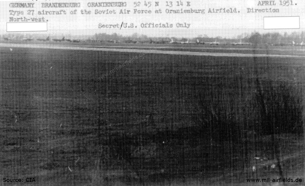Aircraft at Oranienburg airfield