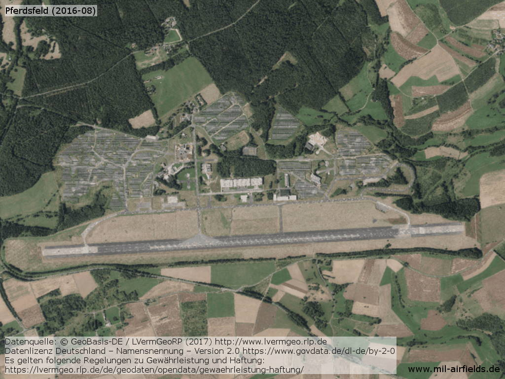 Aerial picture of Pferdsfeld Airfield 2016