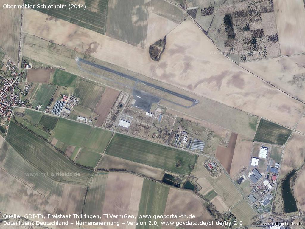 Luftbild Flugplatz Obermehler