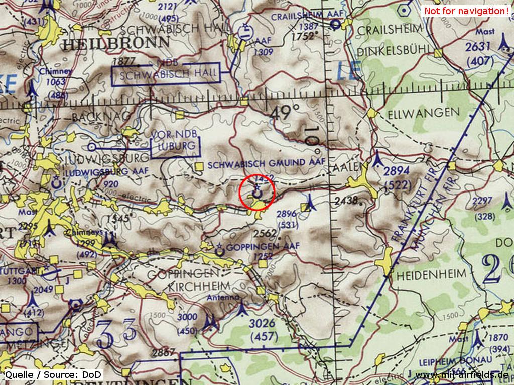 Schwabisch Gmund Army Airfield Army Heliport Military