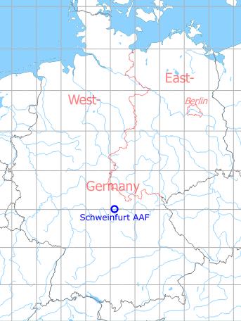 Schweinfurt Army Airfield Military Airfield Directory
