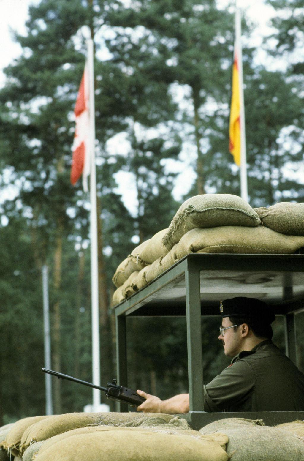 Kanadische Militärpolizei Flugplatz Söllingen 1985