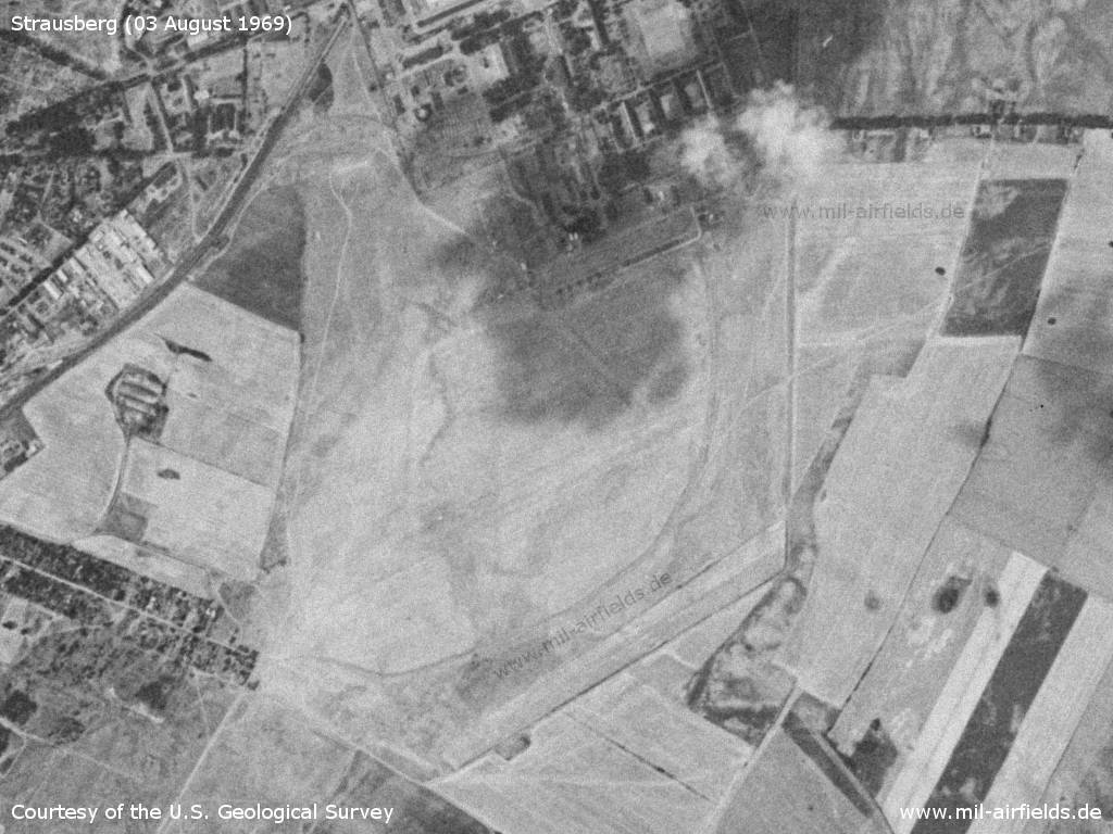 The airfield on 03 August 1969