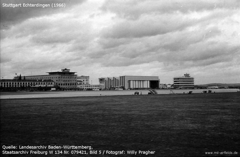 Picture of Stuttgart Airport in 1966