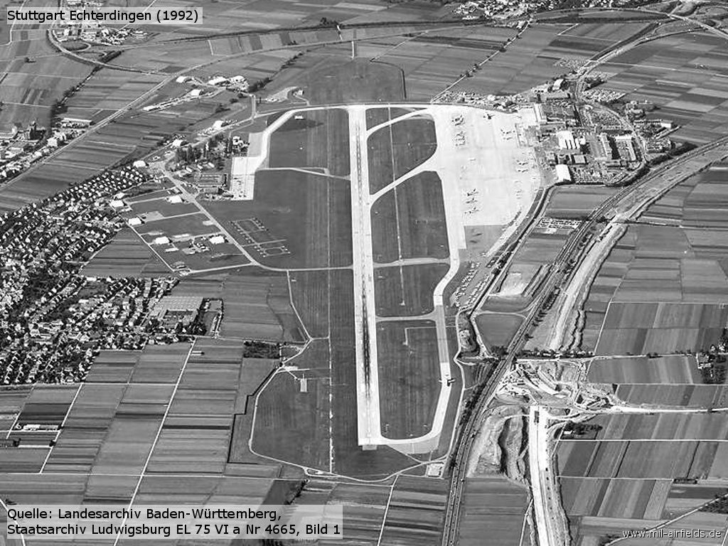 Stuttgart airfield area view