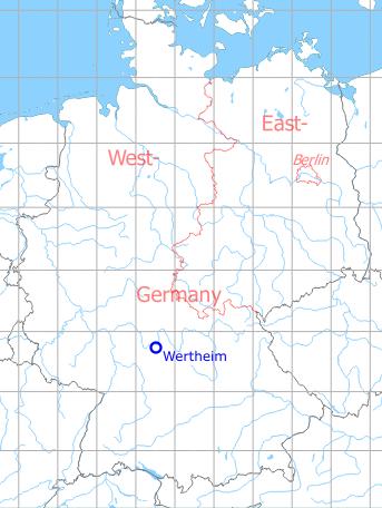 Wertheim Army Airfield   Military Airfield Directory