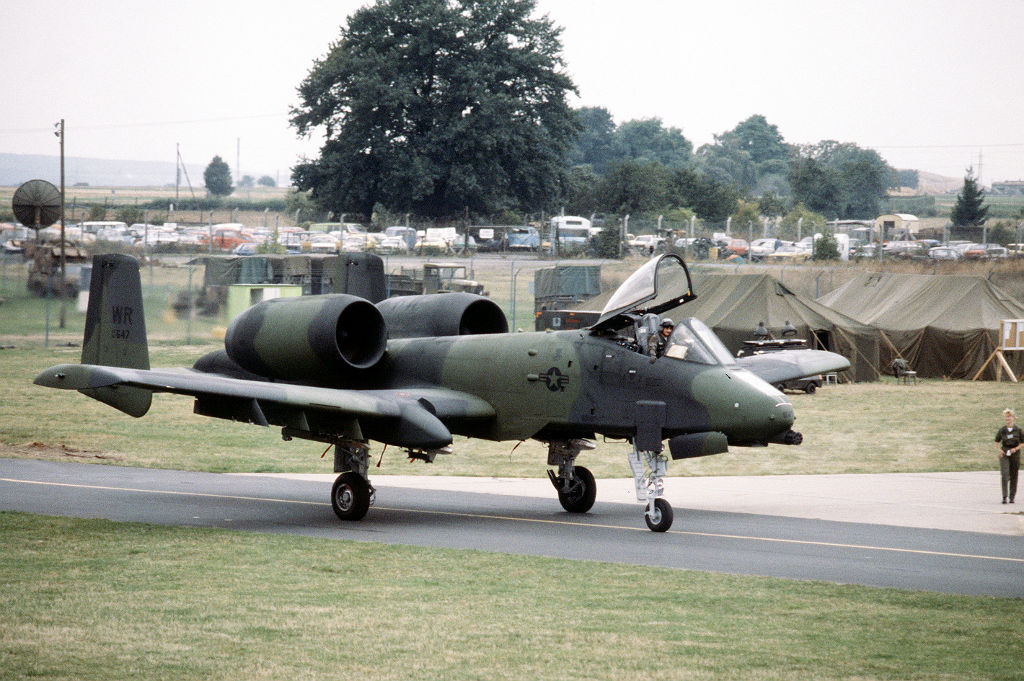 A-10 Thunderbolt II, 81st Tactictal Fighter Wing, Wiesbaden Airbase 1983