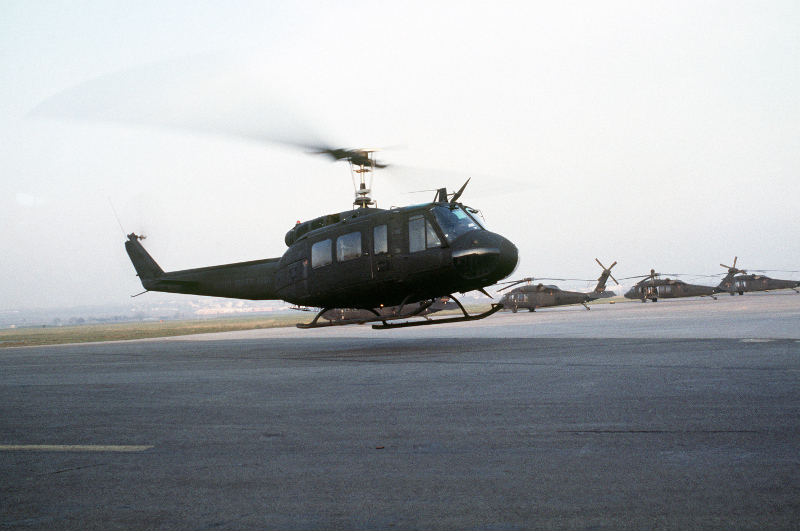 Wiesbaden Army Airfield: UH-1H Iroquois