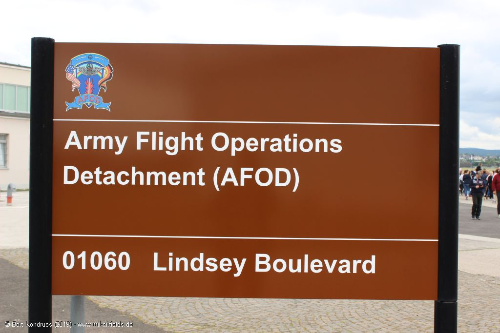 Sign: Army Flight Operations Detachment (AFOD)
