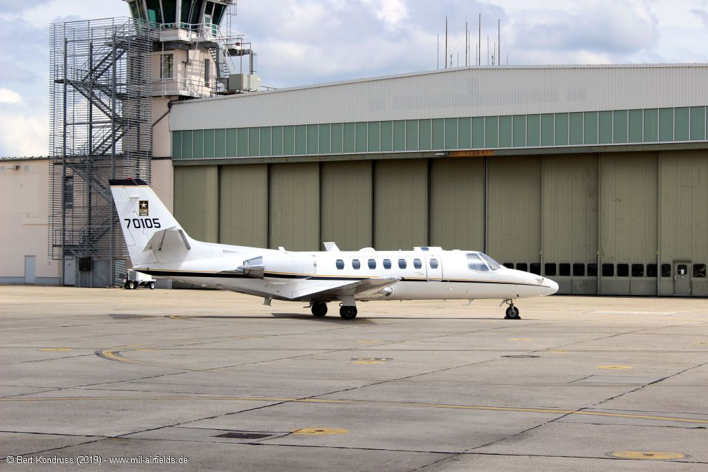 Cessna UC-35A Citation Ultra 97-00105 / 70105 of the US Army, Wiesbaden 2019