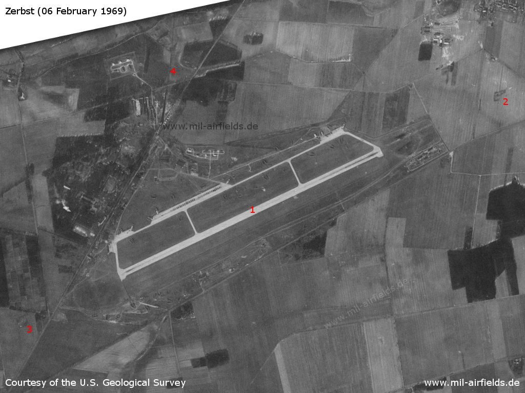 Zerbst aerodrome, Germany