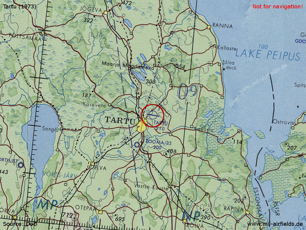 Tartu Air Base Estonia Military Airfield Directory