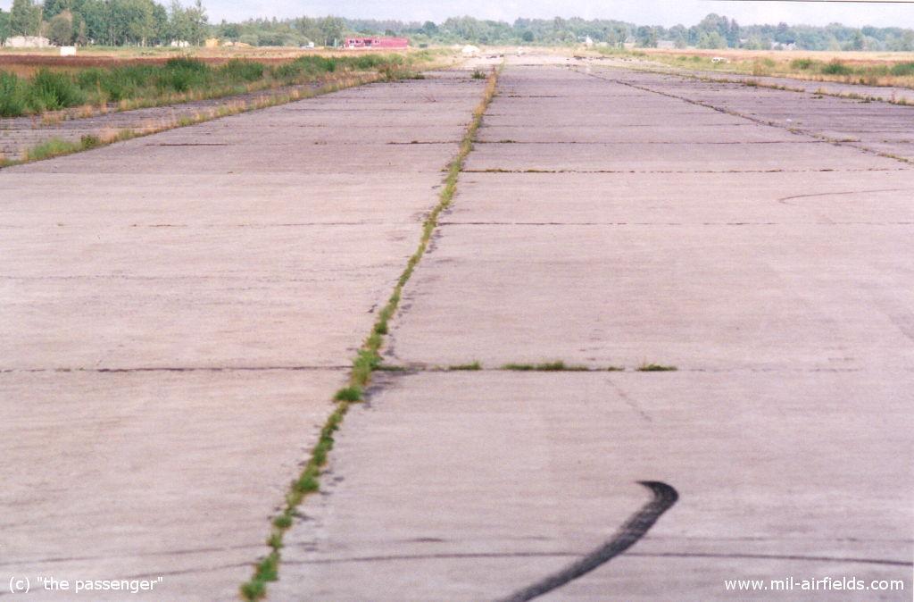 Start- und Landebahn Jekabpils, Lettland