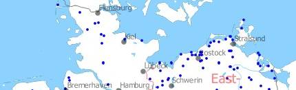 Map Of Germany Cold War.Cold War Air Bases In Germany Military Airfield Directory