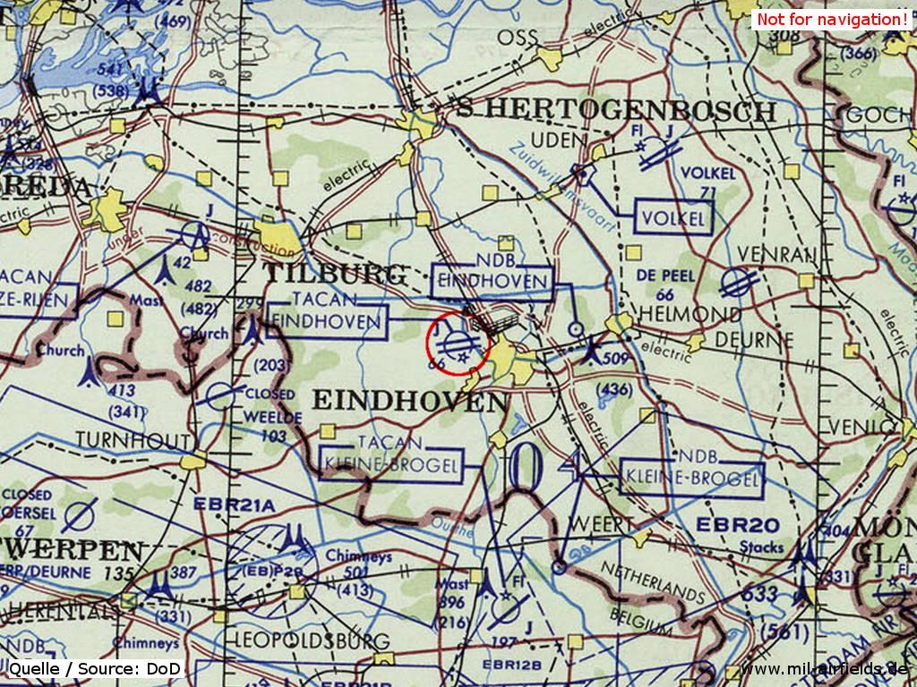 Eindhoven Karte