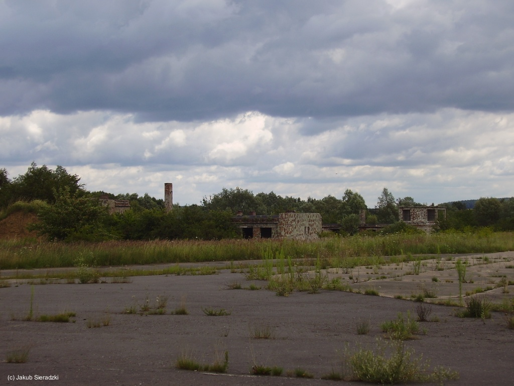 Buildings at Soviet Air Base Chojna