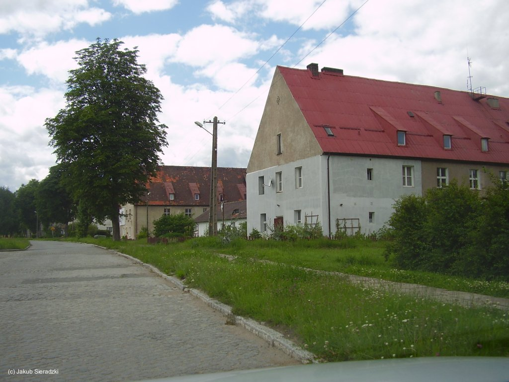 Gebäude in Chojna