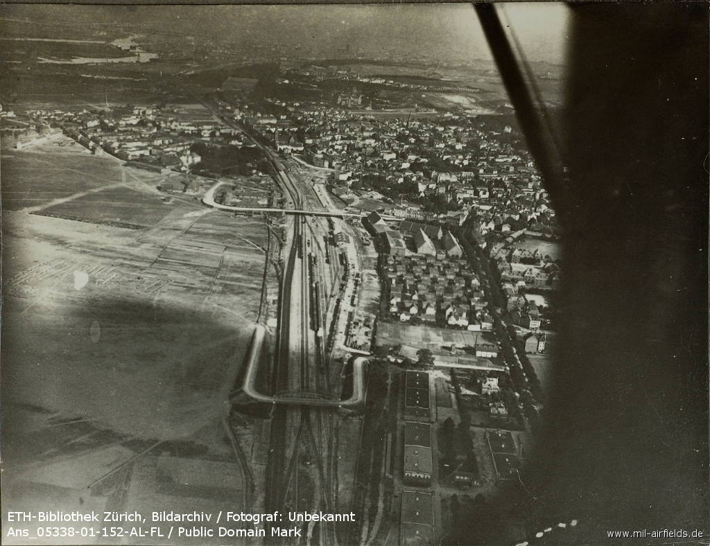Aerial view, probably 1920s