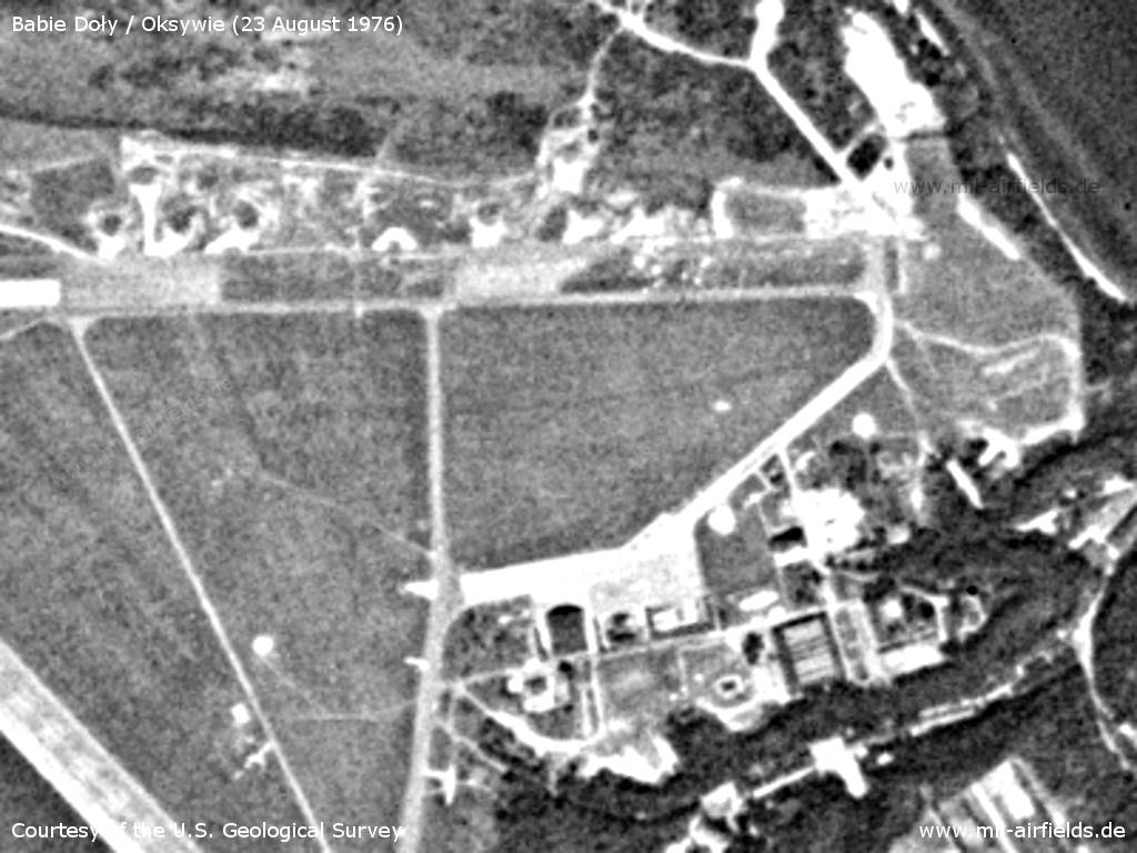Eastern part of the airfield