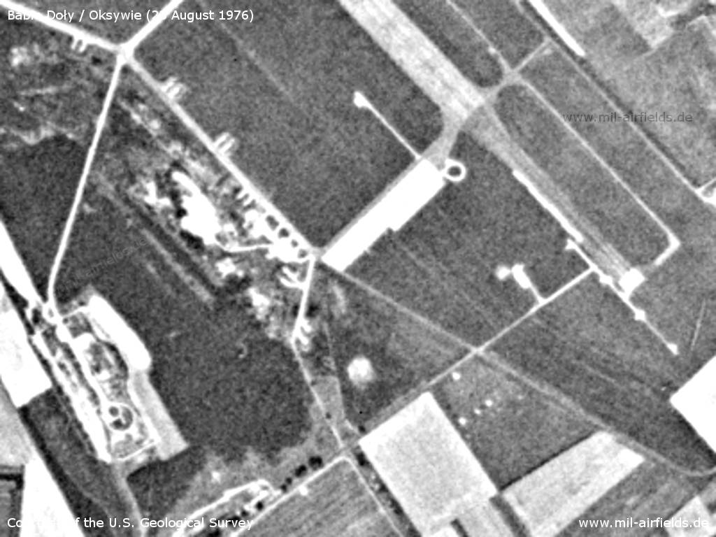 Southeastern part of Babie Doly air base, Poland