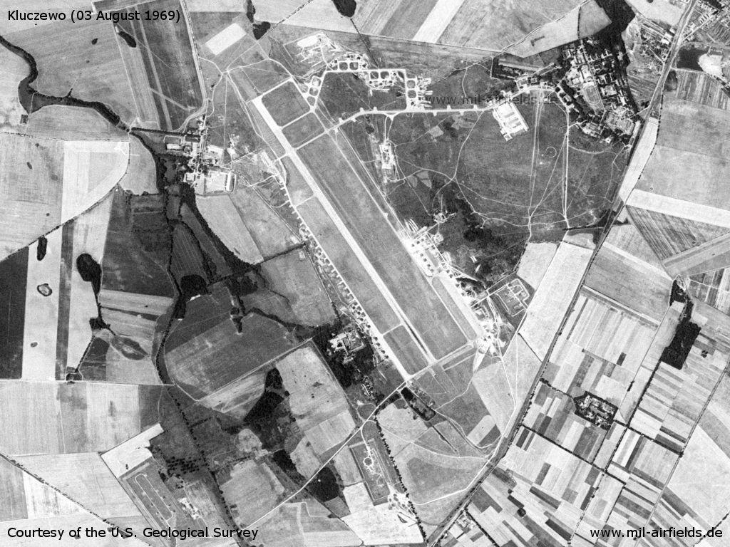 Flugplatz Kluczewo, Polen 1969