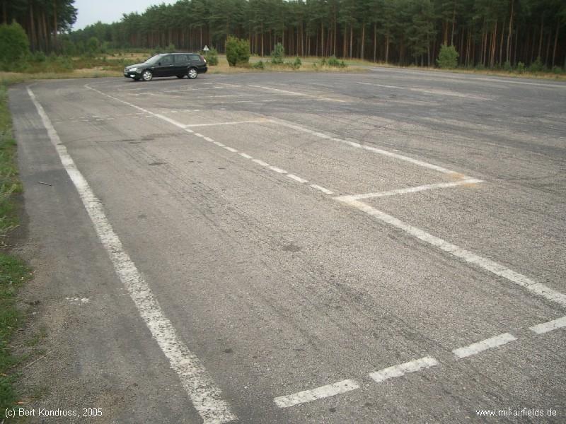 Westlicher Parkplatz des DOL Osie Lipinki